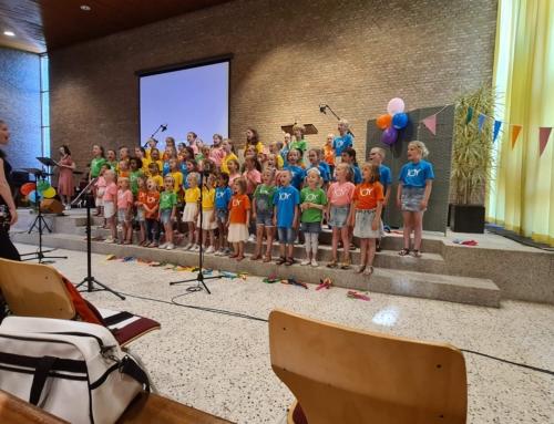 Foto's kinderprojectkoor Joy juni 2021